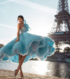gown, france and seine