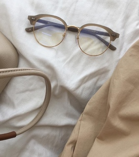 glasses, aesthetic background and brown aesthetic