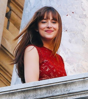 dakota johnson, luxury and christian grey