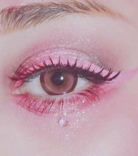 eyeliner, aesthetic and cute