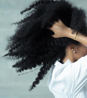 kinky hair, twist out and black women