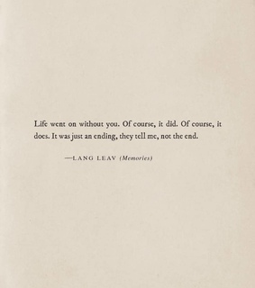 poetry, break up and lang leav