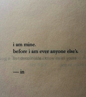 you, text and im mine