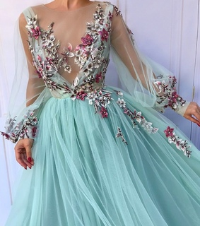 delicate, dress and beautiful