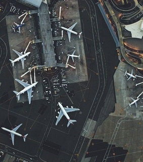 airport, aesthetic and planes