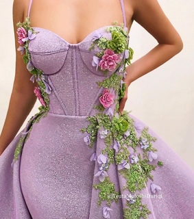 sharm, dress with flower and fashion
