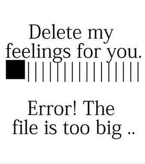 feelings, quotes and delete