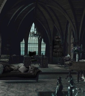 common room, aesthetic and slytherin