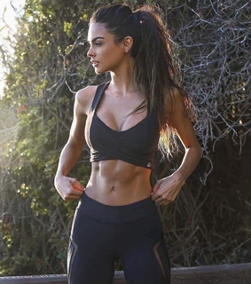 fitness, workout and chicas