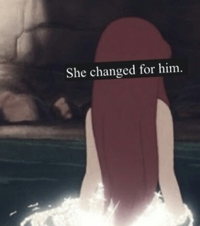 disney, little mermaid and for him