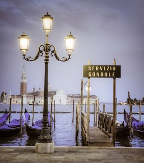 streetlamp, italy and venice