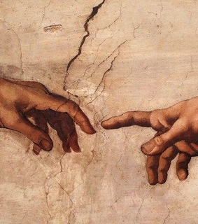 creation, systine chapel and art