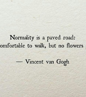 van gogh, normality and self love