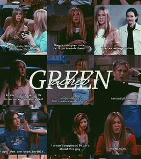 chandler and monica, jennifer aniston and tv show