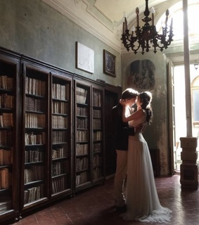 amor, passion and library