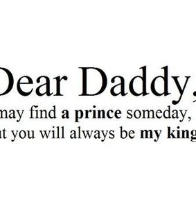 daddy, citat and quote