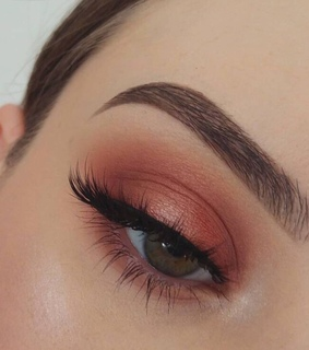 eyes, foundation and eyebrows