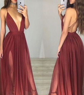 chiffon prom dresses, sleeveless prom dresses and prom dresses a line