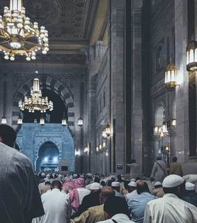 mosque, masjid al haram and islamitisch