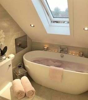 lux, home and bathroom decor