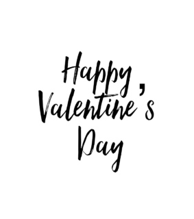 quotes, happy valentines day and black and white