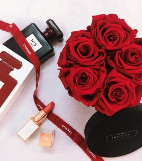 tomford, ecuador roses and chanel