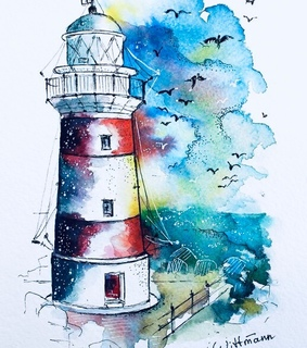 art, lovely and water colour