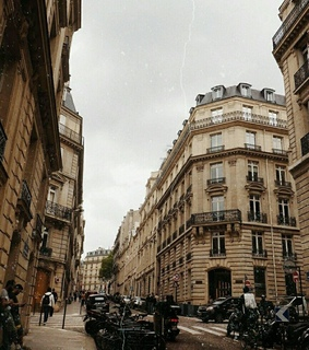 buildings, france and vintage