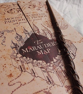 the marauders map, map and remus lupin
