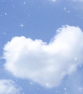 heart, cloud and aesthetic icons