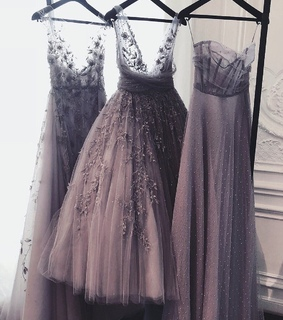 prom, gown and lace