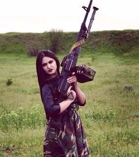 kavkaz, girl and chechen
