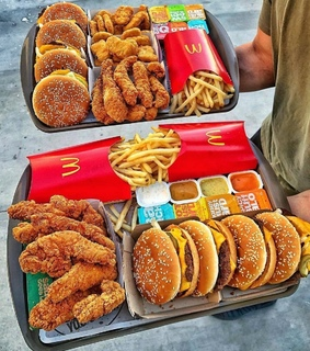 mcdonald39s, fries and chicken