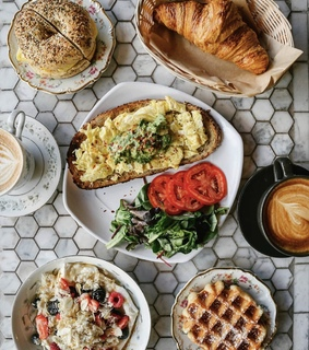 flatlay, breakfast and whitherevolution
