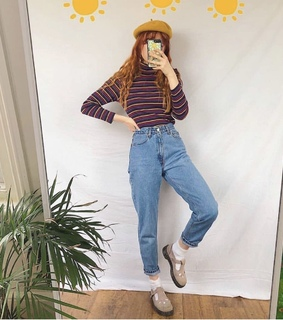 fashion, momjeans and thrifting