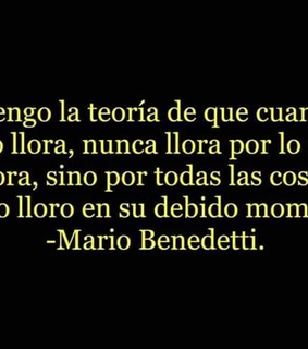 benedetti, desamor and amor
