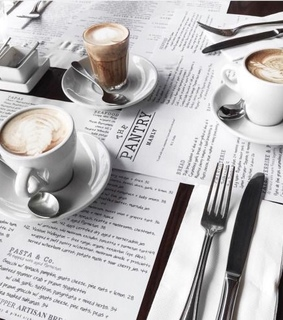 inspiration, white and coffe