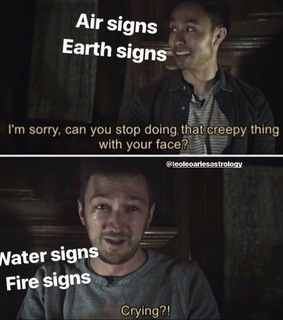 astrology, earth signs and memes