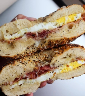 bagel, delicious and breakfast