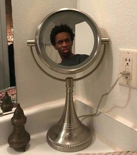 bro, what the fuck and mirror selfie