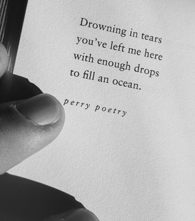 sad, text and perry