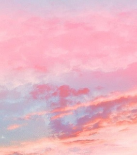 pink clouds, colorful and nature