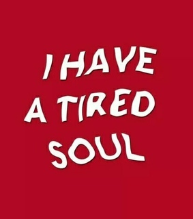 sad, feelings and tired