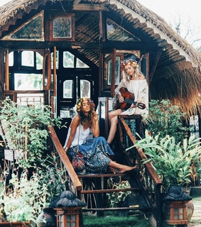 boho, hipster and girls