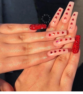 cute, red and love