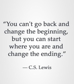 cs lewis, beginning and ending