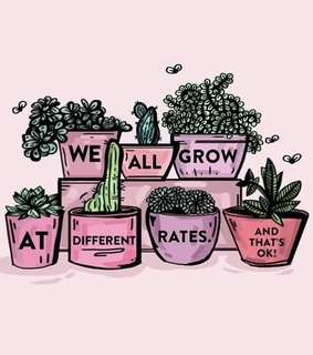 plants, cute and pink