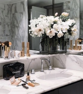 gold, marble and chic