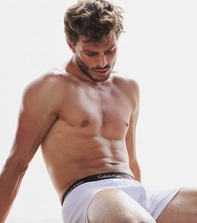 jamie dornan, man and model