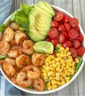 healthy, fit and corn